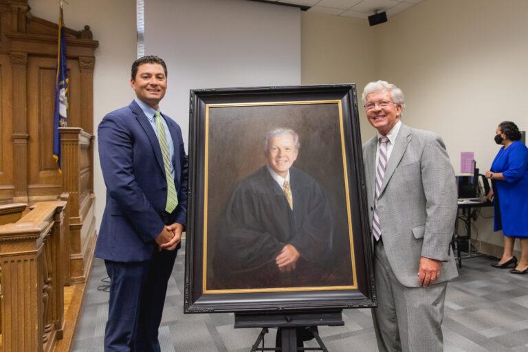 Judge Ishmael's Portrait Unveiling
